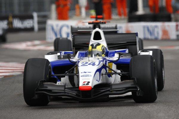 2008 GP2 Series. Round 3. Saturday Race. Monte-Carlo, Monaco. 24th May 2008.Michael Herck (ROM, David Price Racing). Action. World Copyright: Andrew Ferraro/GP2 Series Media Service.ref:__H0Y6279 jpg