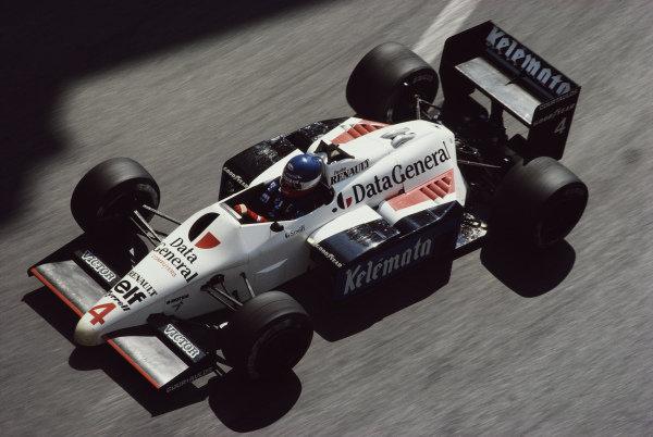 Philippe Streiff, Tyrrell 015 Renault.