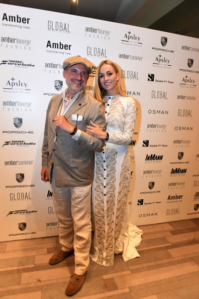 Carmen Jorda (ESP) Renault Sport F1 Team Development Driver at Amber Lounge Fashion Show, Le Meridien Beach Plaza Hotel, Monaco, Friday 27 May 2016.