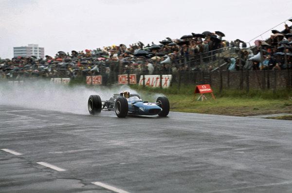 Zandvoort, Holland. 23 June 1968. Jackie Stewart (Matra MS10-Ford) 1st position, action. Ref - 68HOL09World Copyright: LAT Photographic.