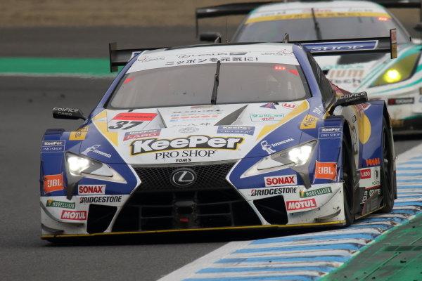 GT500 Winner Ryo Hirakawa & Nick Cassidy, Lexus Team KeePer TOM'S LC500
