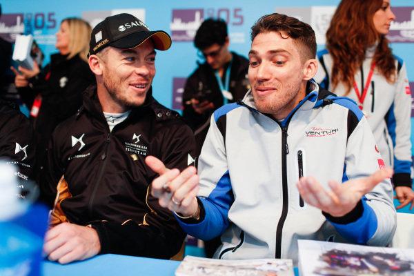 Andre Lotterer (DEU), DS TECHEETAH and Edoardo Mortara (CHE) Venturi Formula E at the autograph session