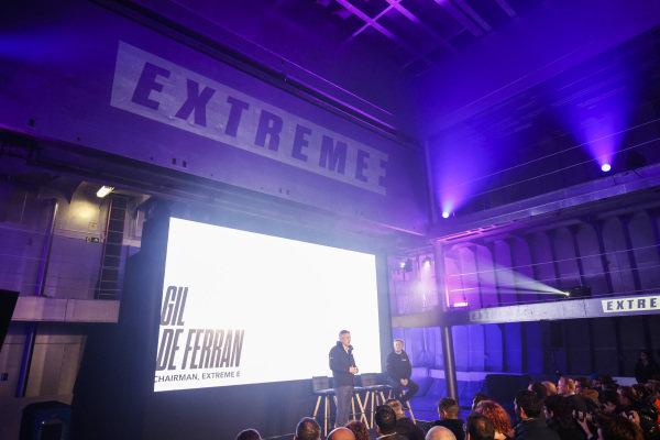 Gil De Ferran, CEO, Extreme E, at the Extreme E Launch