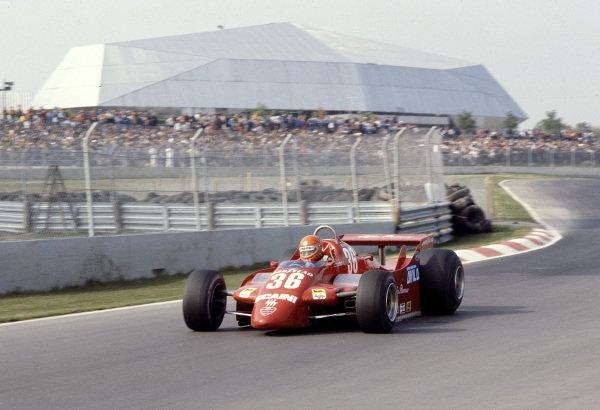 1979 Canadian Grand Prix.Montreal, Quebec, Canada.28-30 September 1979.Vittorio Brambilla (Alfa Romeo 179).Ref-79 CAN 24.World Copyright - LAT Photographic