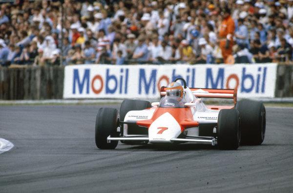 John Watson, McLaren MP4-1 Ford.