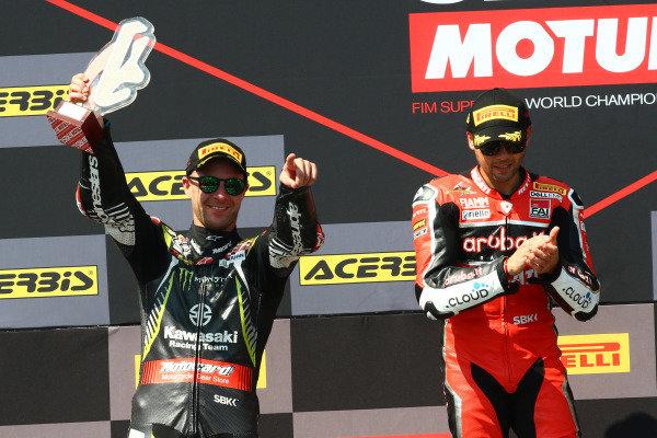 Jonjathan Jonathan Rea, Kawasaki Racing Team, Alvaro Bautista, Aruba.it Racing-Ducati Team.