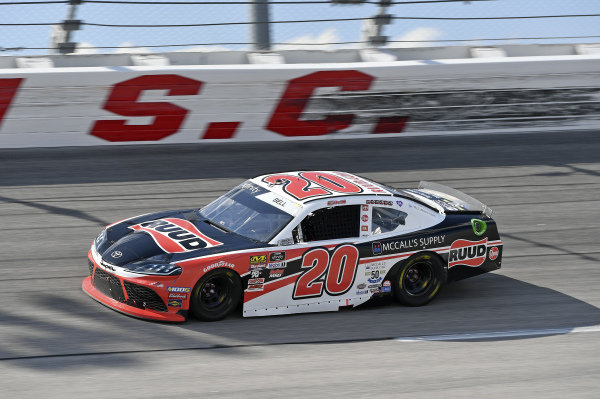 #20: Christopher Bell, Joe Gibbs Racing, Toyota Supra McCall's Supply Ruud