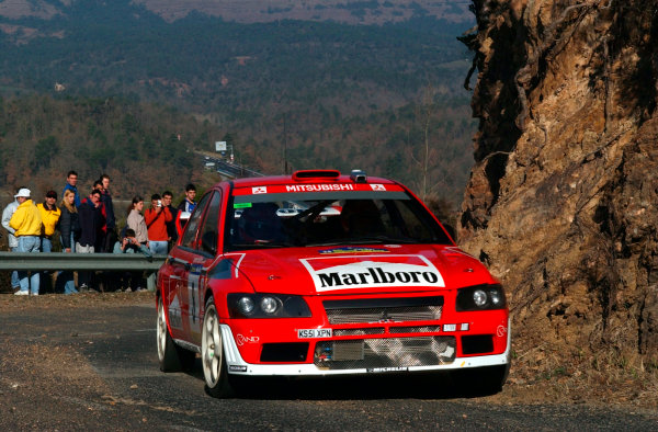 2002 World Rally ChampionshipRally Catalunya, 21st-24th March 2002.Alister McRae during shakedown.Photo: Ralph Hardwick/LAT