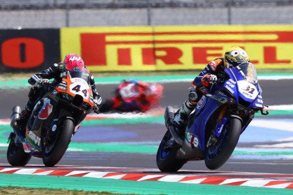 Garrett Gerloff, GRT Yamaha WorldSBK Team, Lucas Mahias, Kawasaki Puccetti Racing.