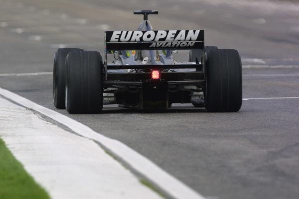 2001 San Marino Grand Prix.Imola, Italy. 13-15 April 2001.Tarso Marques (Minardi PS01 European). World Copyright - LAT Photographicref: 8 9 MB Digital