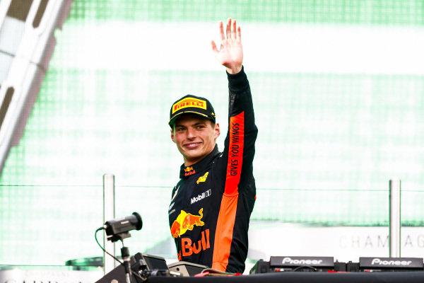 Max Verstappen, Red Bull Racing, 1st position