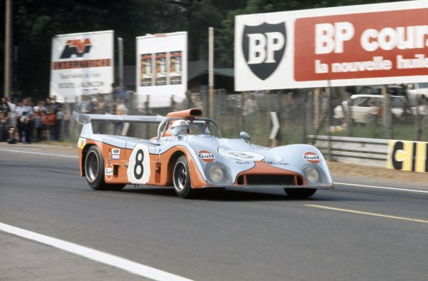 1973 Le Mans 24 hours.Le Mans, France. 9-10 June 1973.Derek Bell/Howden Ganley (Mirage M6-Ford Cosworth), retired.World Copyright: LAT PhotographicRef: 35mm transparency 73LM23