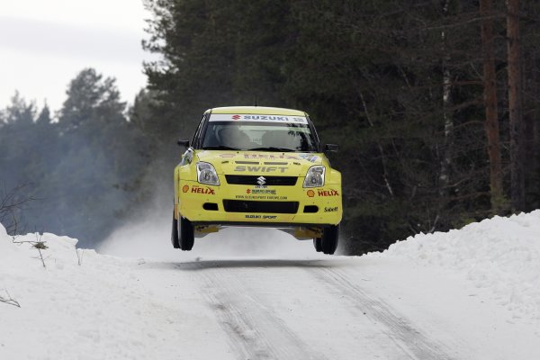 2006 FIA World Rally Champs. Round two Swedish Rally.2nd-5th February 2006.PG Andersson, Suzuki, action.World Copyright: McKlein/LAT