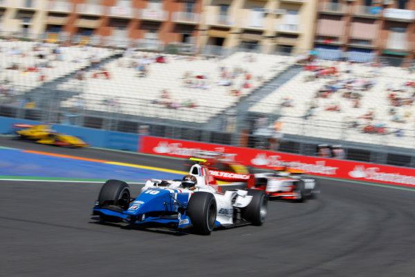 Valencia Spain. 27th June. Sunday Race. Davide Valsecchi (ITA, iSport International). Action.Portrait. Photo: Andrew Ferraro/GP2 Media Service. Ref: _O9T4576 jpg