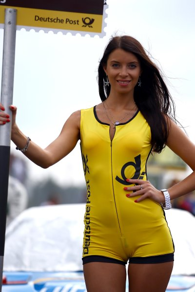 Round 6 - Moscow Raceway, Moscow, Russia  3rd - 4th August 2013  DTM Gridgirl  World Copyright: XPB Images / LAT Photographic  ref: Digital Image 2774601_HiRes