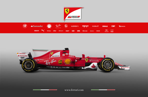 Ferrari SF70H Launch Images. Maranello, Italy. Friday, 24 February, 2017. Photo: Copyright Free Ferrari. Editorial use only. Ref: 170012_SF70H