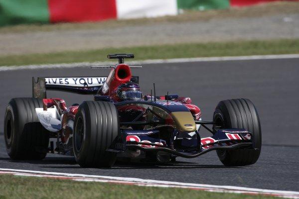2006 Japanese Grand Prix - Saturday Practice Suzuka, Japan. 5th - 8th October 2006 Scott Speed, Toro Rosso STR01-Cosworth, action. World Copyright: Charles Coates/LAT Photographic. ref: Digital Image ZK5Y6462