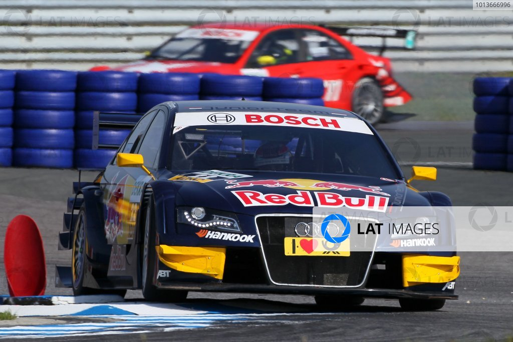 Pole position for Miguel Molina (ESP), Audi Sport Team Abt Junior, Red Bull Audi A4 DTM (2008), the first Spaniard to do so in DTM.