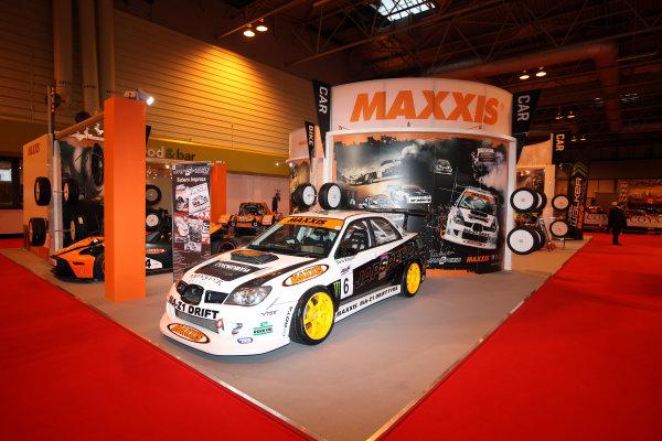 NEC, Birmingham. 12th January 2012.The Maxxis display.World Copyright:Glenn Dunbar/LAT Photographicref: Digital Image IMG_1405