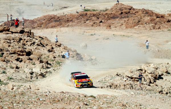 2010 FIA World Rally ChampionshipRound 01Rally Jordan 31/3 - 3/4  2010Petter Solberg, Citroen WRC, ActionWorldwide Copyright: McKlein/LAT