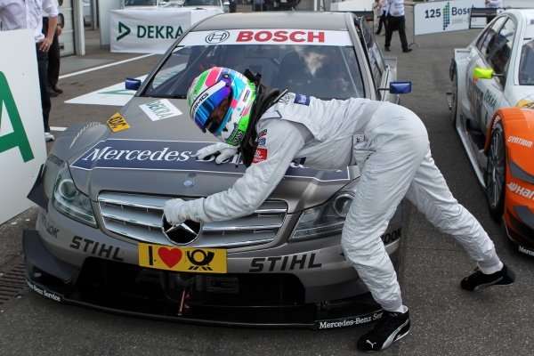 Pole position for Bruno Spengler (CDN), Mercedes-Benz Bank AMG.
