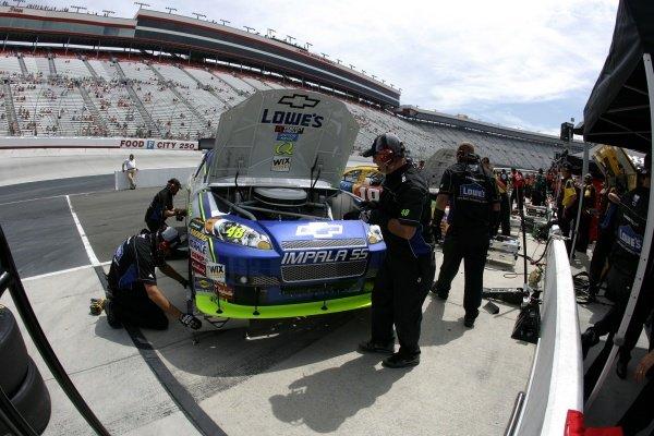 Jimmie Johnson (USA) LOWE'S Chevrolet. Sharpie 500, Bristol Motor Speedway, Tennessee, USA, 22-24 August 2008.