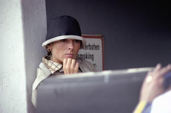 Mariella Reininghaus, Niki Lauda's girlfriend.