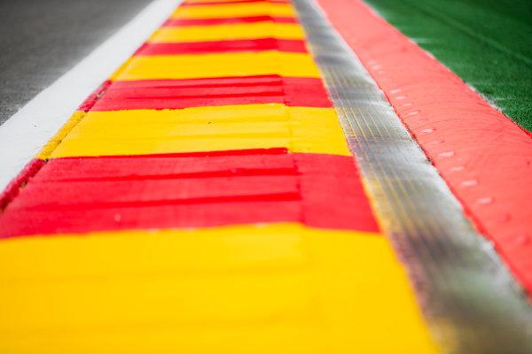 2017 FIA Formula 2 Round 8. Spa-Francorchamps, Spa, Belgium. Thursday 24 August 2017. A view of the track. Photo: Zak Mauger/FIA Formula 2. ref: Digital Image _56I0081