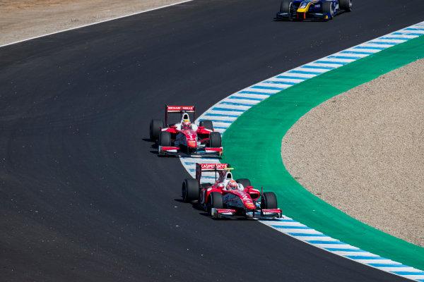 2017 FIA Formula 2 Round 10. Circuito de Jerez, Jerez, Spain. Sunday 8 October 2017.Antonio Fuoco (ITA, PREMA Racing).  Photo: Zak Mauger/FIA Formula 2. ref: Digital Image _56I7631
