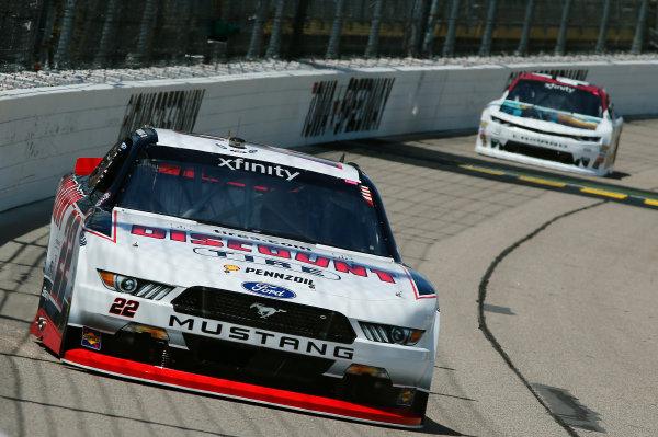 NASCAR XFINITY Series American Ethanol E15 250 presented by Enogen Iowa Speedway, Newton, IA USA Friday 23 June 2017 Sam Hornish Jr, Discount Tire Ford Mustang World Copyright: Brett Moist LAT Images