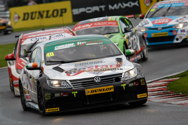 2014 British Touring Car Championship, Oulton Park, Cheshire. 7th-8th June 2104, Aron Smith (IRL) CHROME Edition Restart Racing Volkswagen CC World copyright:  Jakob Ebrey/LAT Photographic