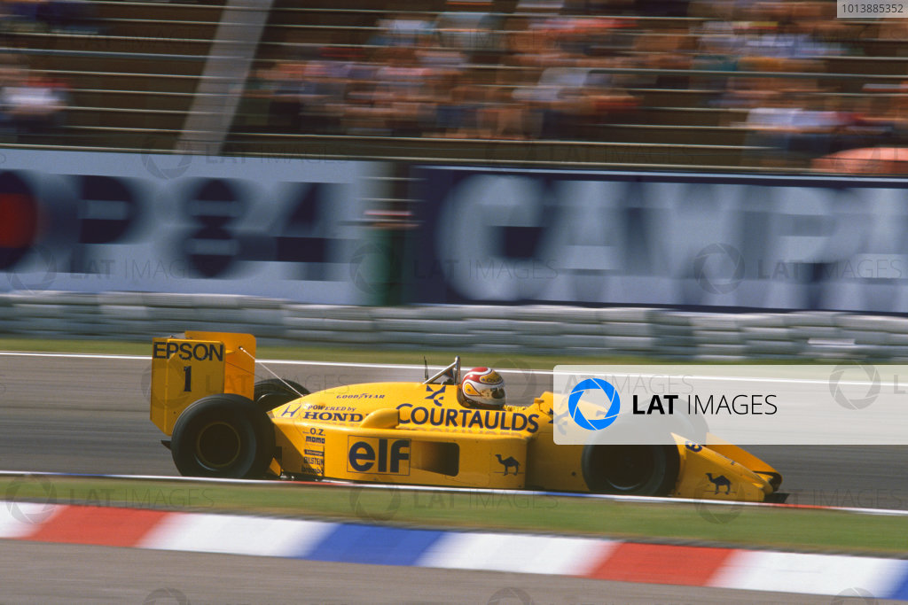 Hockenheim, Germany. 22nd - 24th July 1988. Nelson Piquet (Lotus 100T-Honda), retired, action.  World Copyright: LAT Photographic. Ref: CC