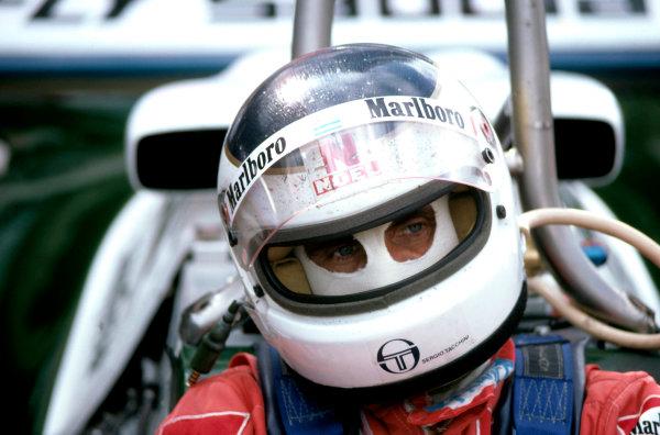 Formula One Driver PortraitsCarlos Reutemann, portrait.World Copyright: LAT Photographic
