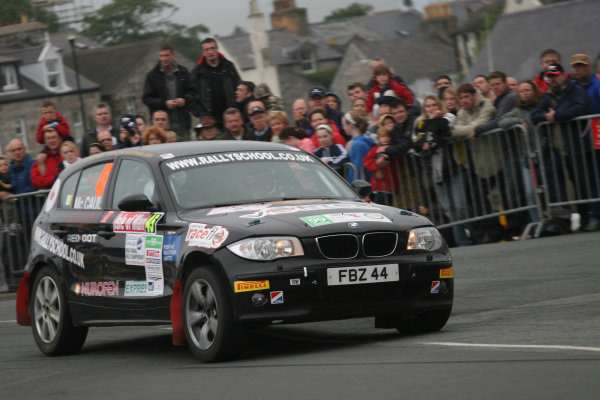 Manx International Rally 2008, 17th-19th July 2008Fin McCaul/Emma BMW 1 series diesel World Copyright: Ebrey/LAT Photographic