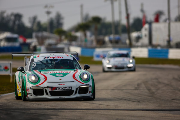 16-18 March, 2016, Sebring, Florida, USA 9, Chris Green, Platinum, 2014 Porsche ?2016, Jake Galstad LAT Photo USA