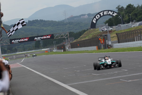 Fuji Speedway, Japan 13th - 14th July 2013.Rd 9 Winner  Yuichi Nakayama ( #36 PETRONAS TEAM TOM'S ) action World Copyright: Yasushi Ishihara/LAT Photographic Ref: Digital Image 2013JF3_Rd8&9_017