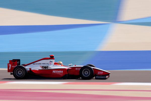 Bahrain International Circuit. Sakhir, Bahrain.Thursday Practice. 25th February .Jules Bianchi (FRA, ART Grand Prix). Action. World Copyright: Alastair Staley/GP2 Media Service.Ref: _O9T2567 jpg