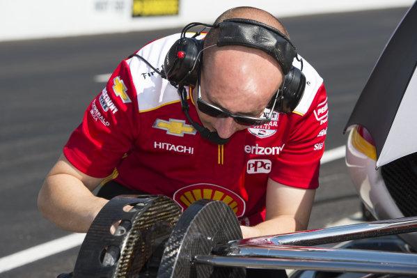 Josef Newgarden, Team Penske Chevrolet crewman