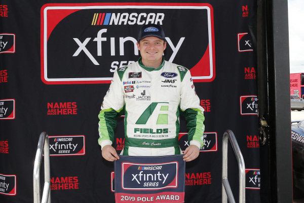 #00: Cole Custer, Stewart-Haas Racing, Ford Mustang FIELDS pole award