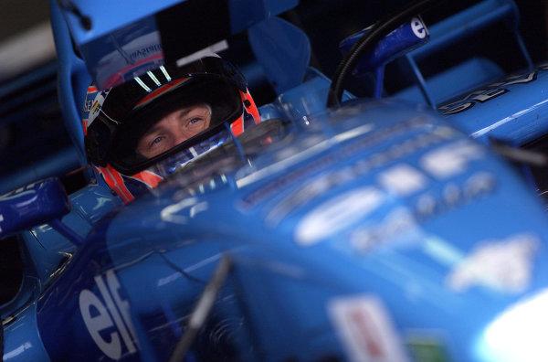 2001 Austrian Grand Prix.A1-Ring, Zeltweg, Austria.11-13 May 2001.Jenson Button (Benetton Renault).World Copyright - Steve Etherington/LAT PhotographicRef:18mb Digital Image