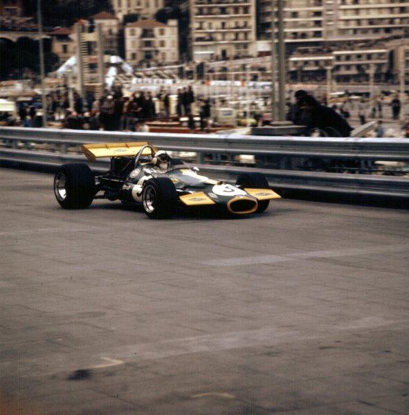 1970 Monaco Grand Prix.Monte Carlo, Monaco.7-10 May 1970.Jack Brabham (Brabham BT33 Ford) 2nd position.Ref-3/4037C.World Copyright - LAT Photgraphic