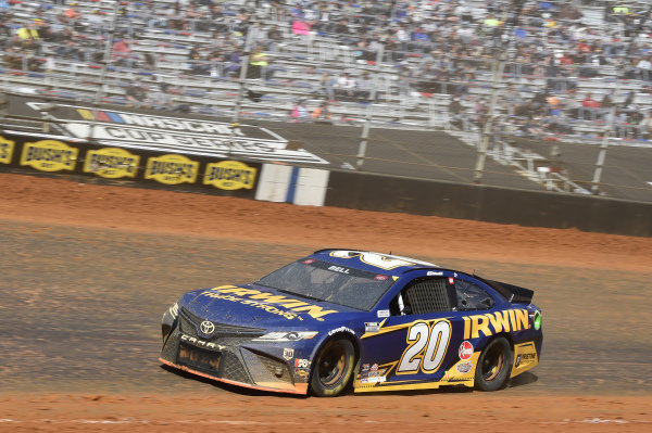 #20: Christopher Bell, Joe Gibbs Racing, Toyota Camry Irwin Trade Strong