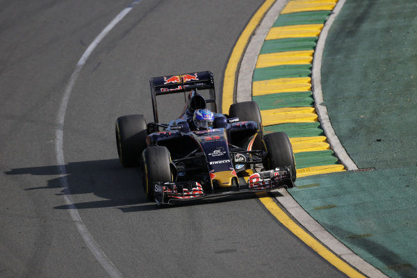 Max Verstappen (NDL) Scuderia Toro Rosso STR11 at Formula One World Championship, Rd1, Australian Grand Prix, Race, Albert Park, Melbourne, Australia, Sunday 20 March 2016.