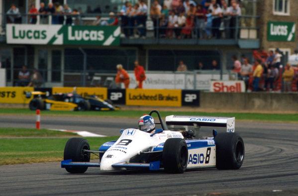 Jonathan Palmer (GBR) Ralt Racing. European Formula 2 Championship, Donington Park, England, 25 June 1983.