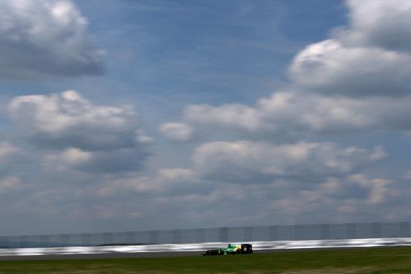 Charles Pic (FRA) Caterham CT03.Formula One World Championship, Rd9, German Grand Prix, Qualifying, Nurburgring, Germany, Saturday 6 July 2013.