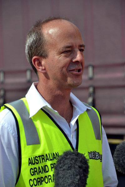 Andrew Westacott (AUS) Australian GP CEO. Formula One World Championship, Rd1, Australian Grand Prix, Preparations, Albert Park, Melbourne, Australia, Monday 11 March 2013.