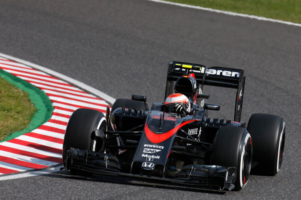 a7da0afd Suzuka Circuit, Suzuka, Japan. Sunday 27 September 2015. Jenson Button,  McLaren