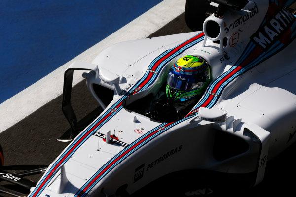 Silverstone, Northamptonshire, England. Friday 03 July 2015. Felipe Massa, Williams FW37 Mercedes. World Copyright: Alastair Staley/LAT Photographic. ref: Digital Image _79P9228