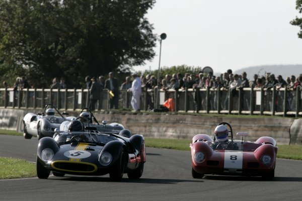 2006 Goodwood Revival Meeting. Goodwood, West Sussex. 2nd - 3rd September 2006 Madgewick Cup.Philip Walker and David Clark battle.World Copyright: Gary Hawkins/LAT Photographic ref: Digital Image Only