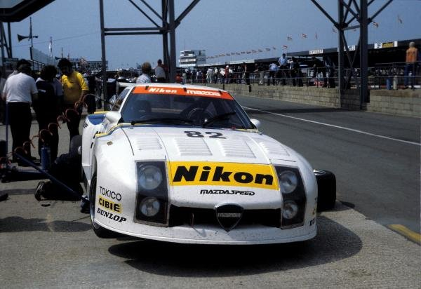 The Mazda RX-7 254i driven by Yojiro Terada (JPN), Tom Walkinshaw (GBR) and Pete Lovett (GBR) retired after 25 laps.